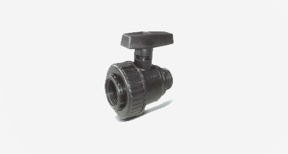 PVC ball valve male / female