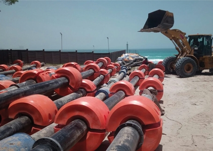 Floating Dredging Pipe manufacture